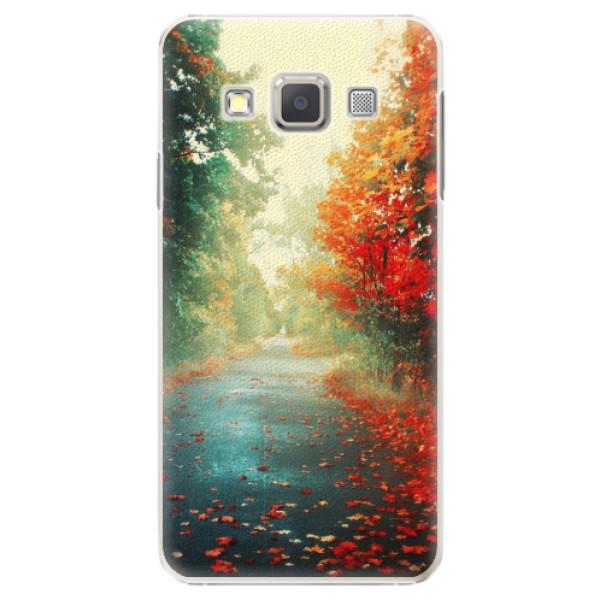 Plastové pouzdro iSaprio - Autumn 03 - Samsung Galaxy A3