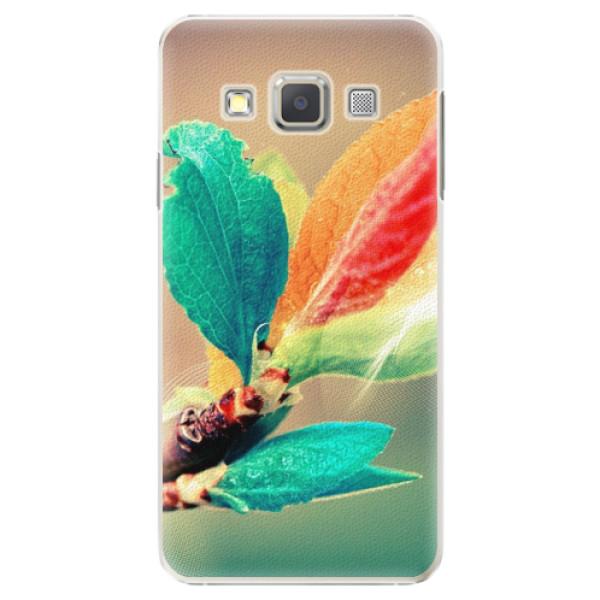 Plastové pouzdro iSaprio - Autumn 02 - Samsung Galaxy A3