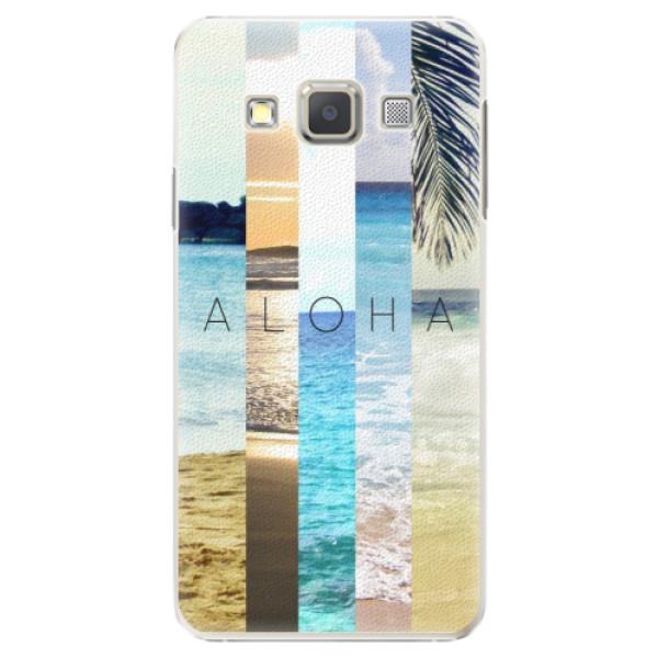 Plastové pouzdro iSaprio - Aloha 02 - Samsung Galaxy A3