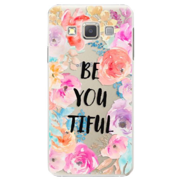 Plastové pouzdro iSaprio - BeYouTiful - Samsung Galaxy A3