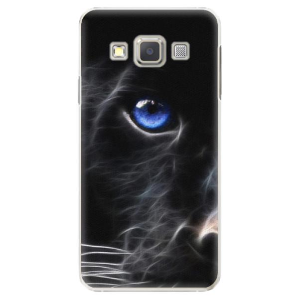 Plastové pouzdro iSaprio - Black Puma - Samsung Galaxy A3