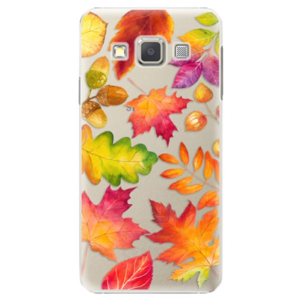 Plastové pouzdro iSaprio - Autumn Leaves 01 - Samsung Galaxy A3