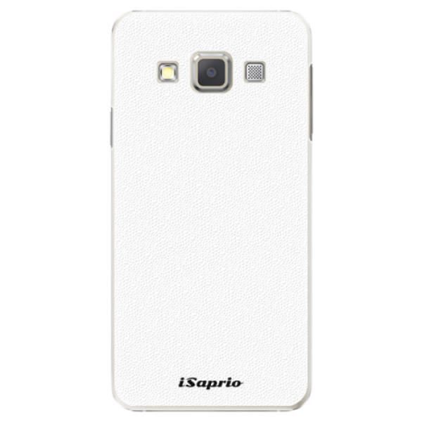 Plastové pouzdro iSaprio - 4Pure - bílý - Samsung Galaxy A3