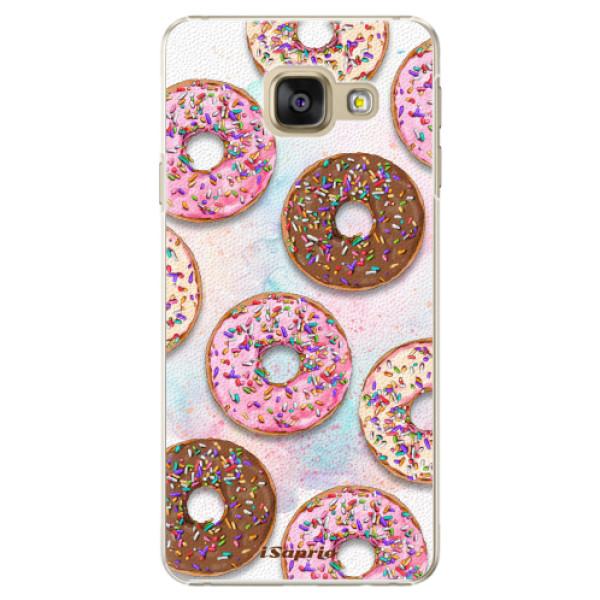 Plastové pouzdro iSaprio - Donuts 11 - Samsung Galaxy A3 2016