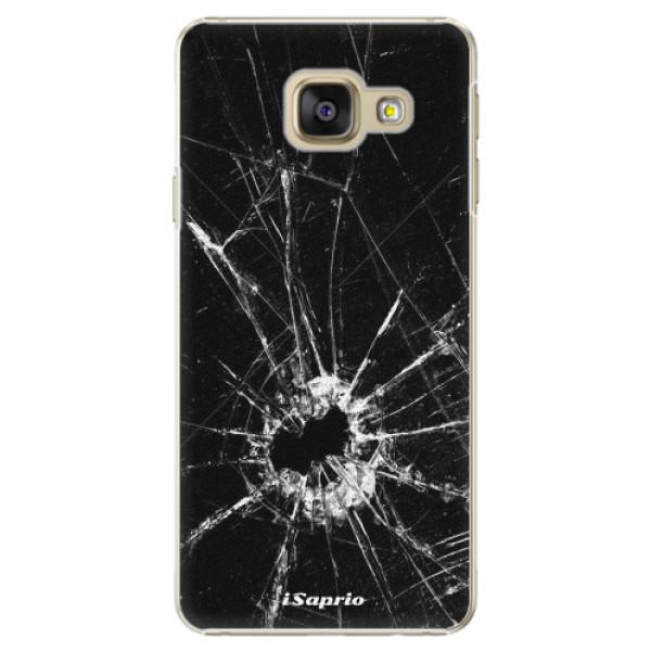 Plastové pouzdro iSaprio - Broken Glass 10 - Samsung Galaxy A3 2016