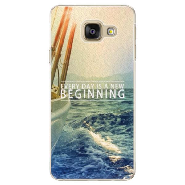 Plastové pouzdro iSaprio - Beginning - Samsung Galaxy A3 2016