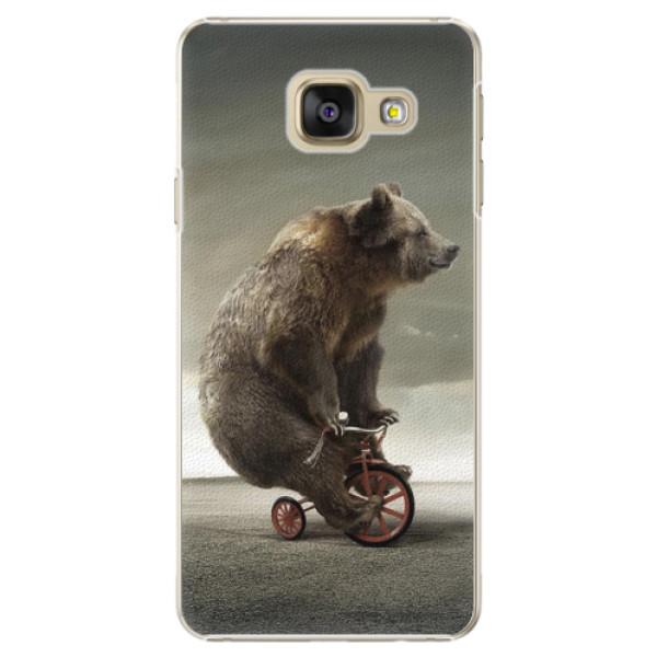 Plastové pouzdro iSaprio - Bear 01 - Samsung Galaxy A3 2016