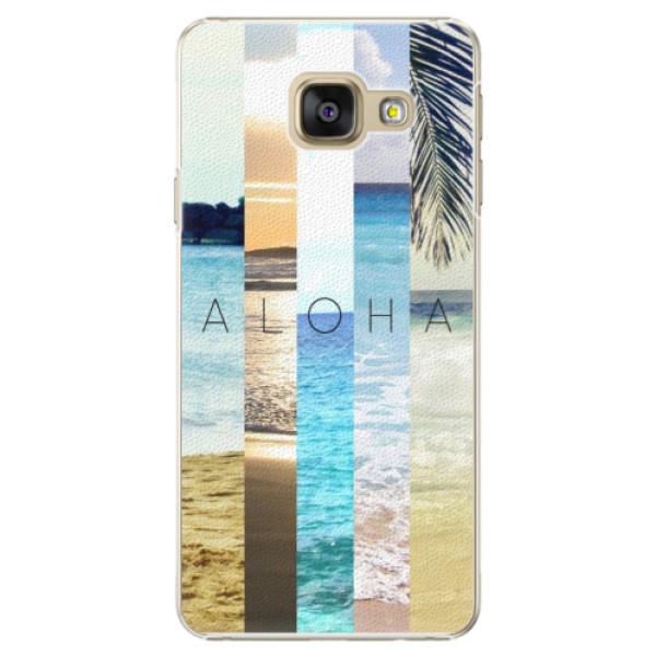 Plastové pouzdro iSaprio - Aloha 02 - Samsung Galaxy A3 2016