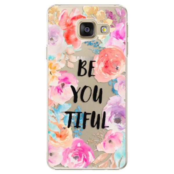 Plastové pouzdro iSaprio - BeYouTiful - Samsung Galaxy A3 2016