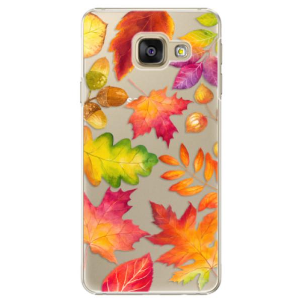 Plastové pouzdro iSaprio - Autumn Leaves 01 - Samsung Galaxy A3 2016