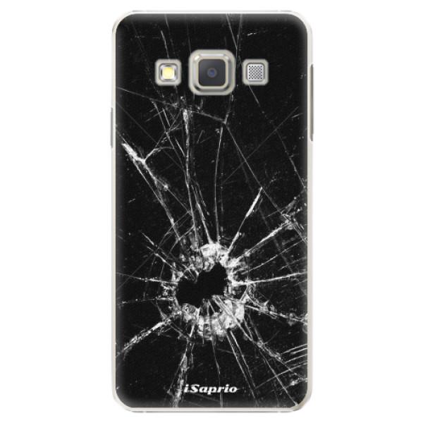 Plastové pouzdro iSaprio - Broken Glass 10 - Samsung Galaxy A5