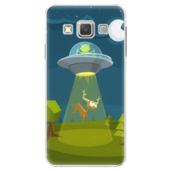 Plastové pouzdro iSaprio - Alien 01 - Samsung Galaxy A5