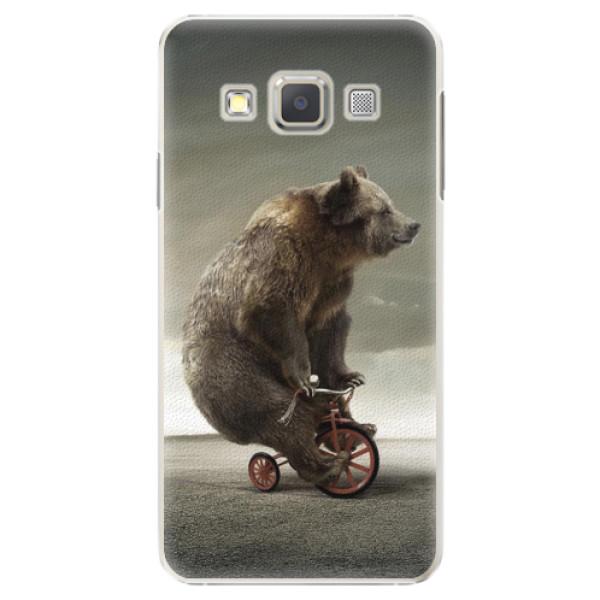 Plastové pouzdro iSaprio - Bear 01 - Samsung Galaxy A5
