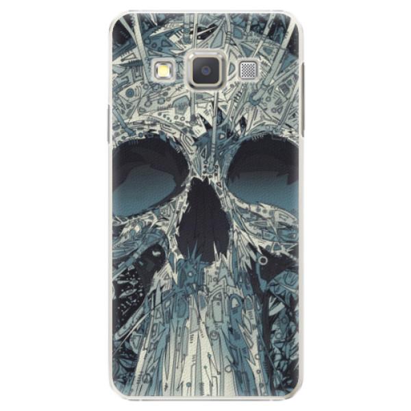 Plastové pouzdro iSaprio - Abstract Skull - Samsung Galaxy A5