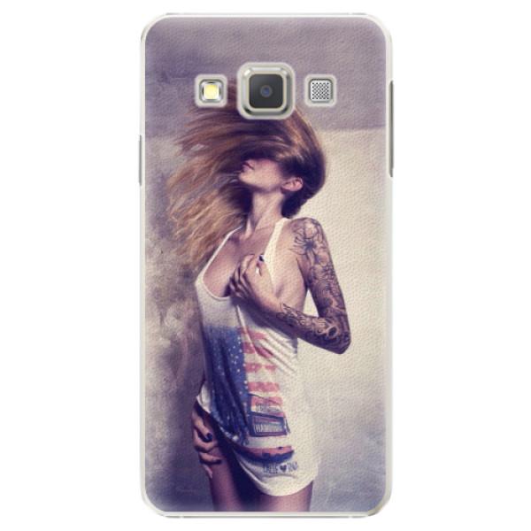 Plastové pouzdro iSaprio - Girl 01 - Samsung Galaxy A5