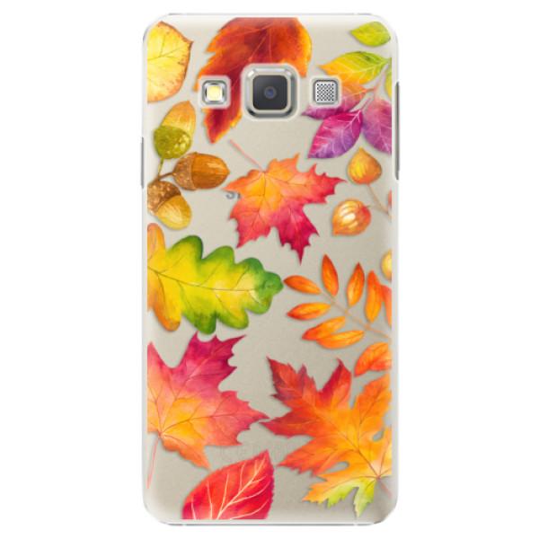 Plastové pouzdro iSaprio - Autumn Leaves 01 - Samsung Galaxy A5