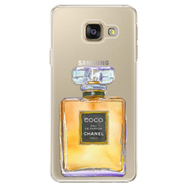 Plastové pouzdro iSaprio - Chanel Gold - Samsung Galaxy A5 2016
