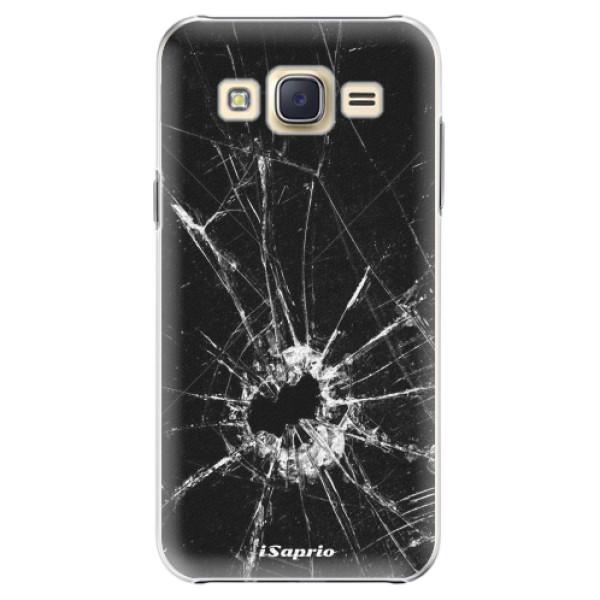 Plastové pouzdro iSaprio - Broken Glass 10 - Samsung Galaxy J5