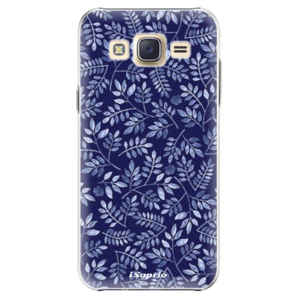 Plastové pouzdro iSaprio - Blue Leaves 05 - Samsung Galaxy J5