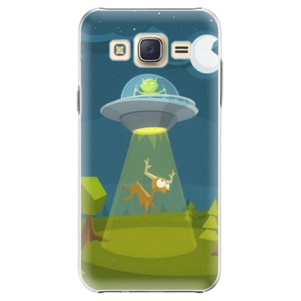 Plastové pouzdro iSaprio - Alien 01 - Samsung Galaxy J5