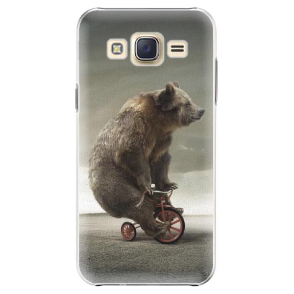Plastové pouzdro iSaprio - Bear 01 - Samsung Galaxy J5