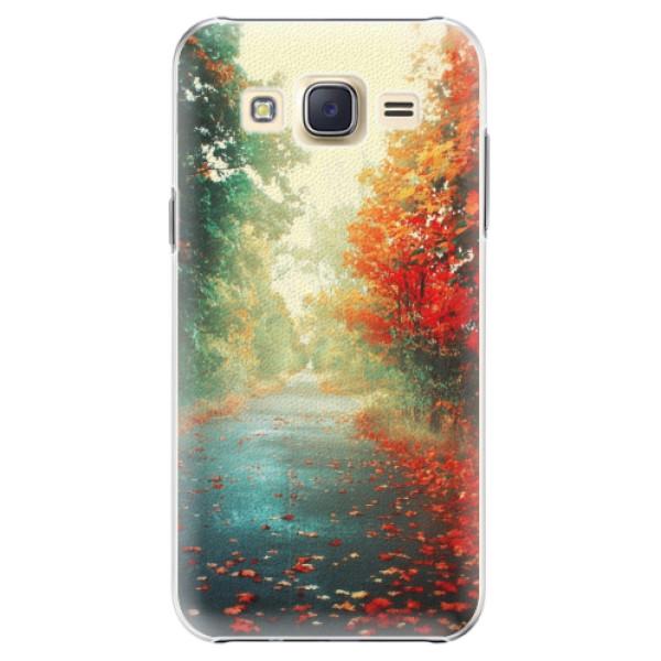 Plastové pouzdro iSaprio - Autumn 03 - Samsung Galaxy J5