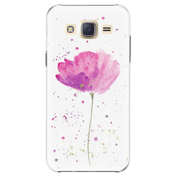 Plastové pouzdro iSaprio - Poppies - Samsung Galaxy J5