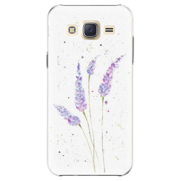 Plastové pouzdro iSaprio - Lavender - Samsung Galaxy J5