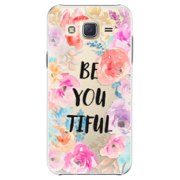 Plastové pouzdro iSaprio - BeYouTiful - Samsung Galaxy J5