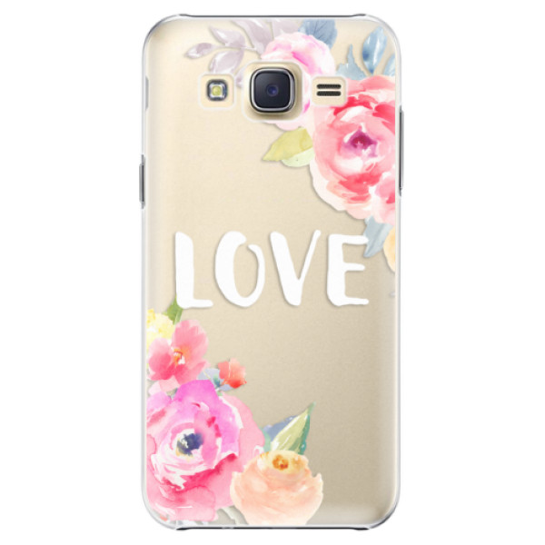 Plastové pouzdro iSaprio - Love - Samsung Galaxy J5