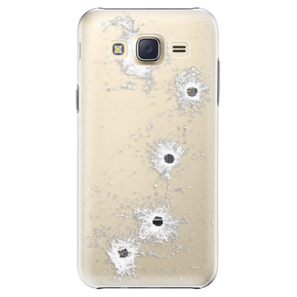 Plastové pouzdro iSaprio - Gunshots - Samsung Galaxy J5