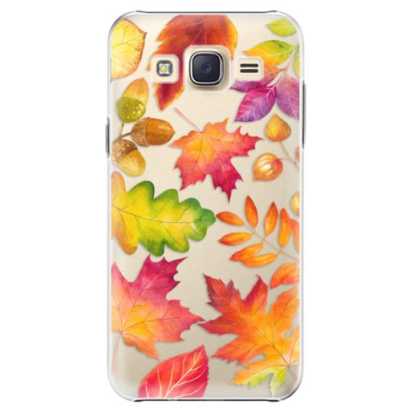 Plastové pouzdro iSaprio - Autumn Leaves 01 - Samsung Galaxy J5