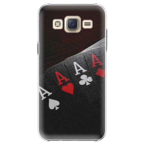 Plastové pouzdro iSaprio - Poker - Samsung Galaxy J5