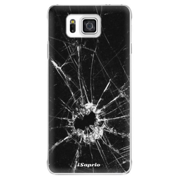 Plastové pouzdro iSaprio - Broken Glass 10 - Samsung Galaxy Alpha