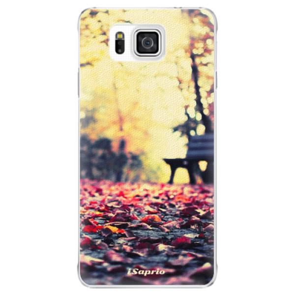 Plastové pouzdro iSaprio - Bench 01 - Samsung Galaxy Alpha