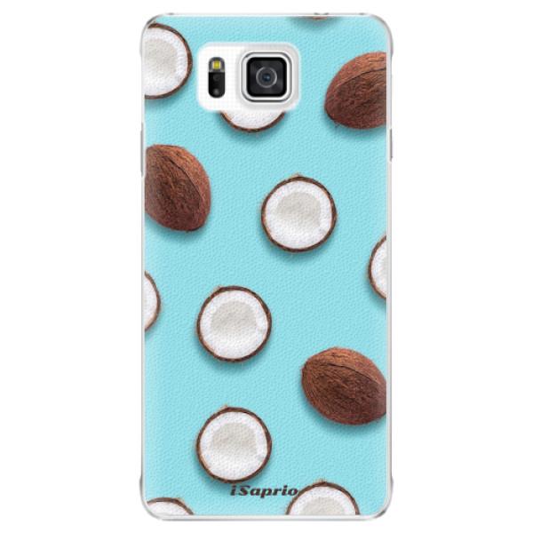 Plastové pouzdro iSaprio - Coconut 01 - Samsung Galaxy Alpha