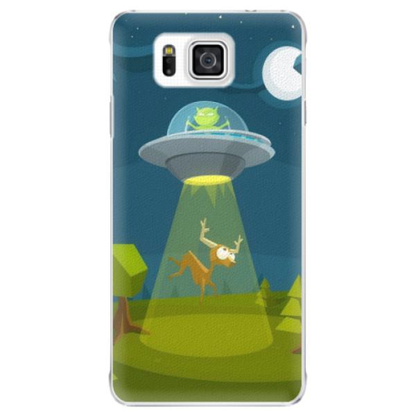 Plastové pouzdro iSaprio - Alien 01 - Samsung Galaxy Alpha