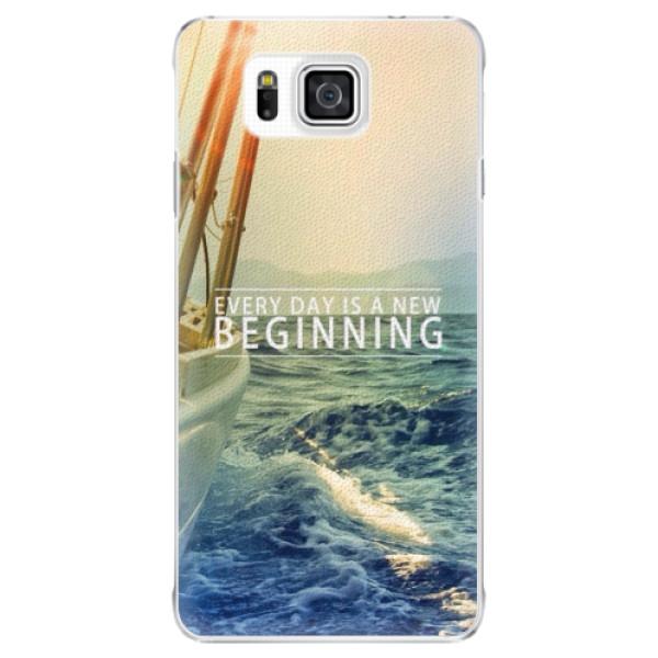 Plastové pouzdro iSaprio - Beginning - Samsung Galaxy Alpha