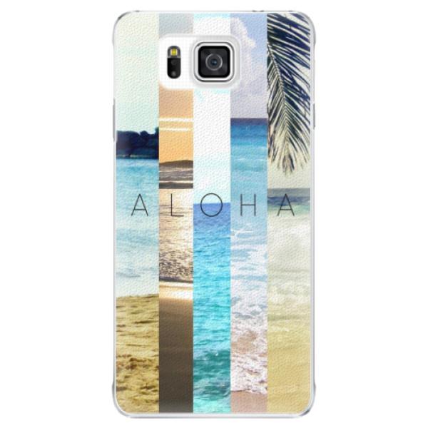 Plastové pouzdro iSaprio - Aloha 02 - Samsung Galaxy Alpha