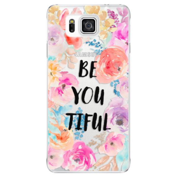 Plastové pouzdro iSaprio - BeYouTiful - Samsung Galaxy Alpha