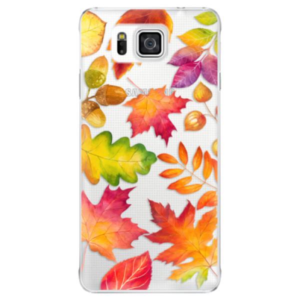 Plastové pouzdro iSaprio - Autumn Leaves 01 - Samsung Galaxy Alpha