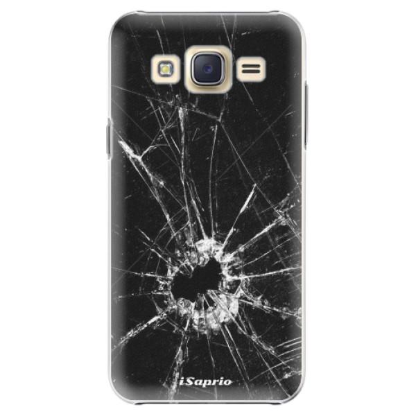 Plastové pouzdro iSaprio - Broken Glass 10 - Samsung Galaxy Core Prime