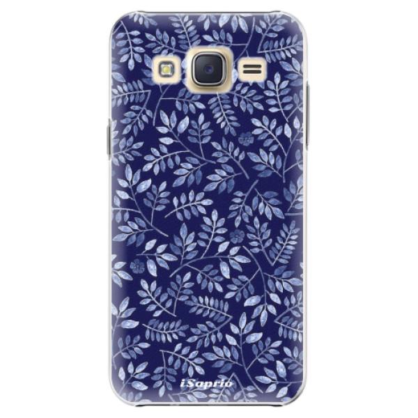 Plastové pouzdro iSaprio - Blue Leaves 05 - Samsung Galaxy Core Prime