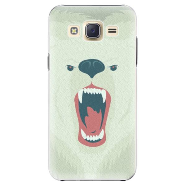 Plastové pouzdro iSaprio - Angry Bear - Samsung Galaxy Core Prime