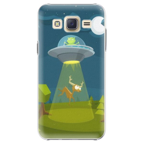 Plastové pouzdro iSaprio - Alien 01 - Samsung Galaxy Core Prime
