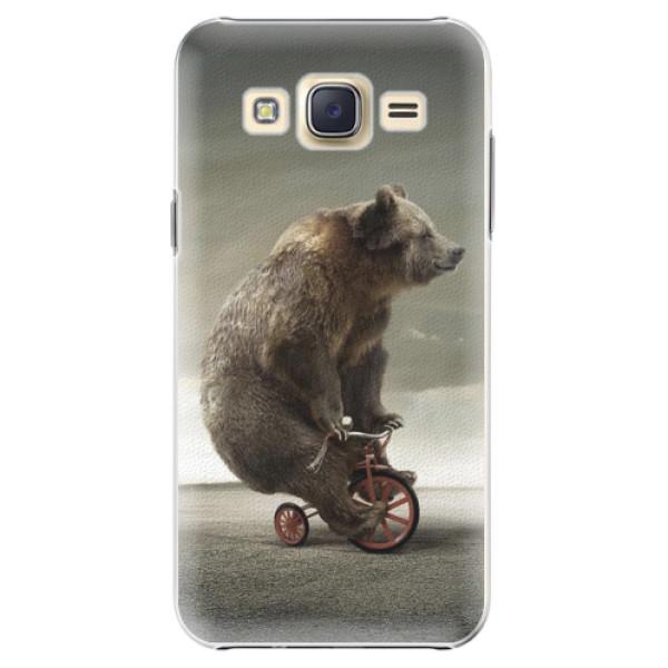 Plastové pouzdro iSaprio - Bear 01 - Samsung Galaxy Core Prime
