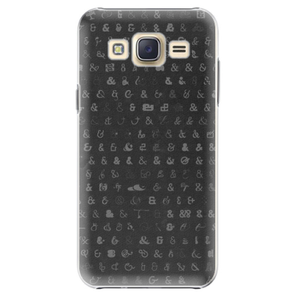 Plastové pouzdro iSaprio - Ampersand 01 - Samsung Galaxy Core Prime