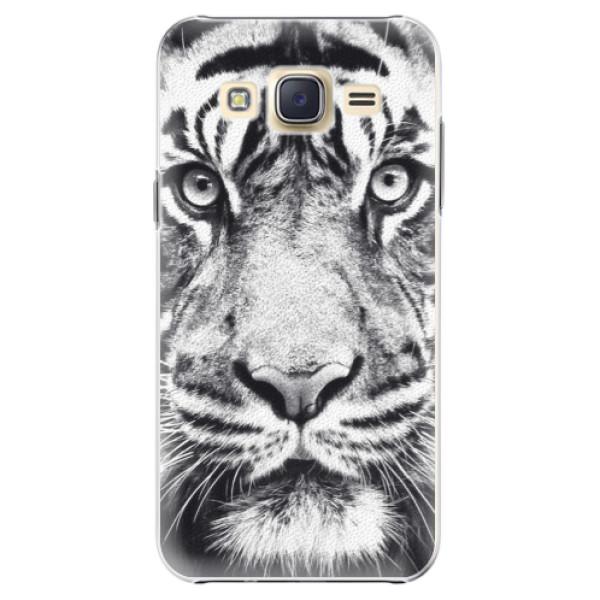 Levně Plastové pouzdro iSaprio - Tiger Face - Samsung Galaxy Core Prime