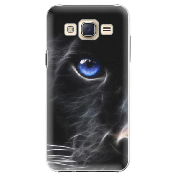 Plastové pouzdro iSaprio - Black Puma - Samsung Galaxy Core Prime