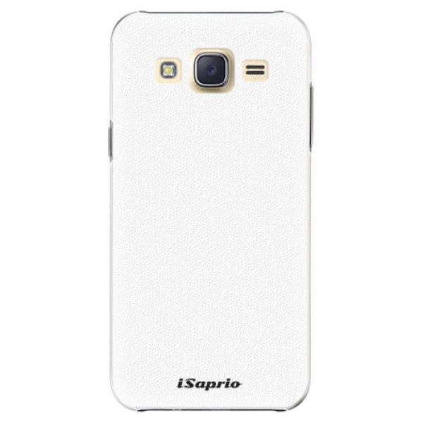 Plastové pouzdro iSaprio - 4Pure - bílý - Samsung Galaxy Core Prime